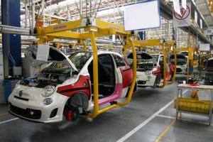 Fabryka FCA - Linia montażowa