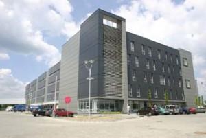 Centrum M-Logistic w Tychach.